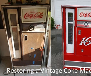 恢复1960年代的焦炭机器!