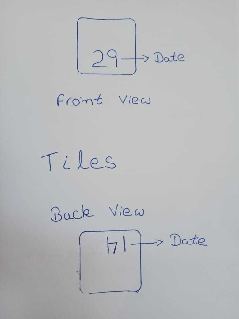 Lets Tinker: Calendar Date Box: Task 4