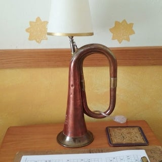 How to Make a Trumpet Lamp