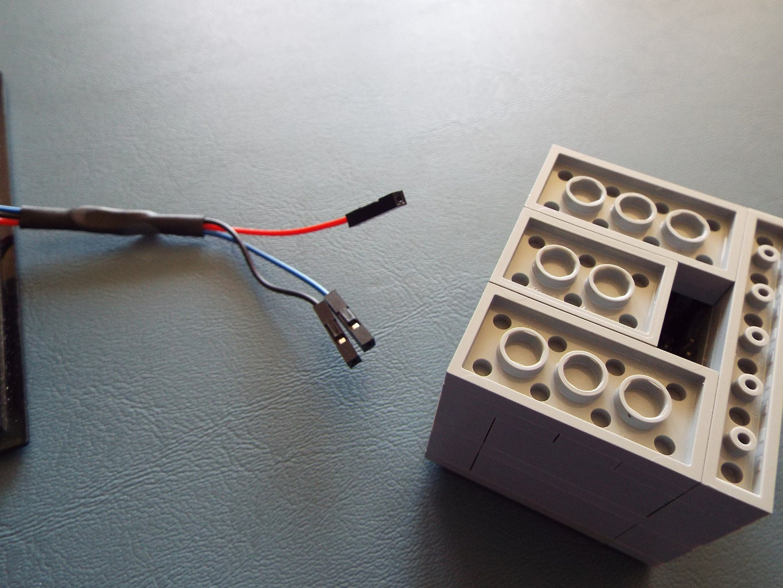 Attatch Your Wires.
