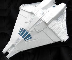 Escape Shuttle From the SciFi Classic ALIEN