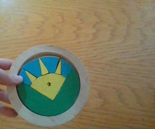Tabletop Wooden Puzzle