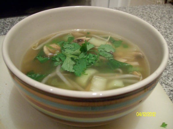 Pimp My Soup! Adaptable Chinese Style Soup Base