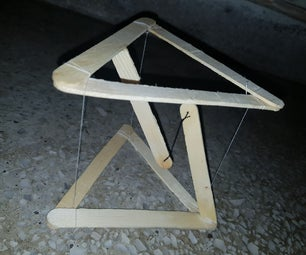 How to Make a DIY Tensegrity Structure