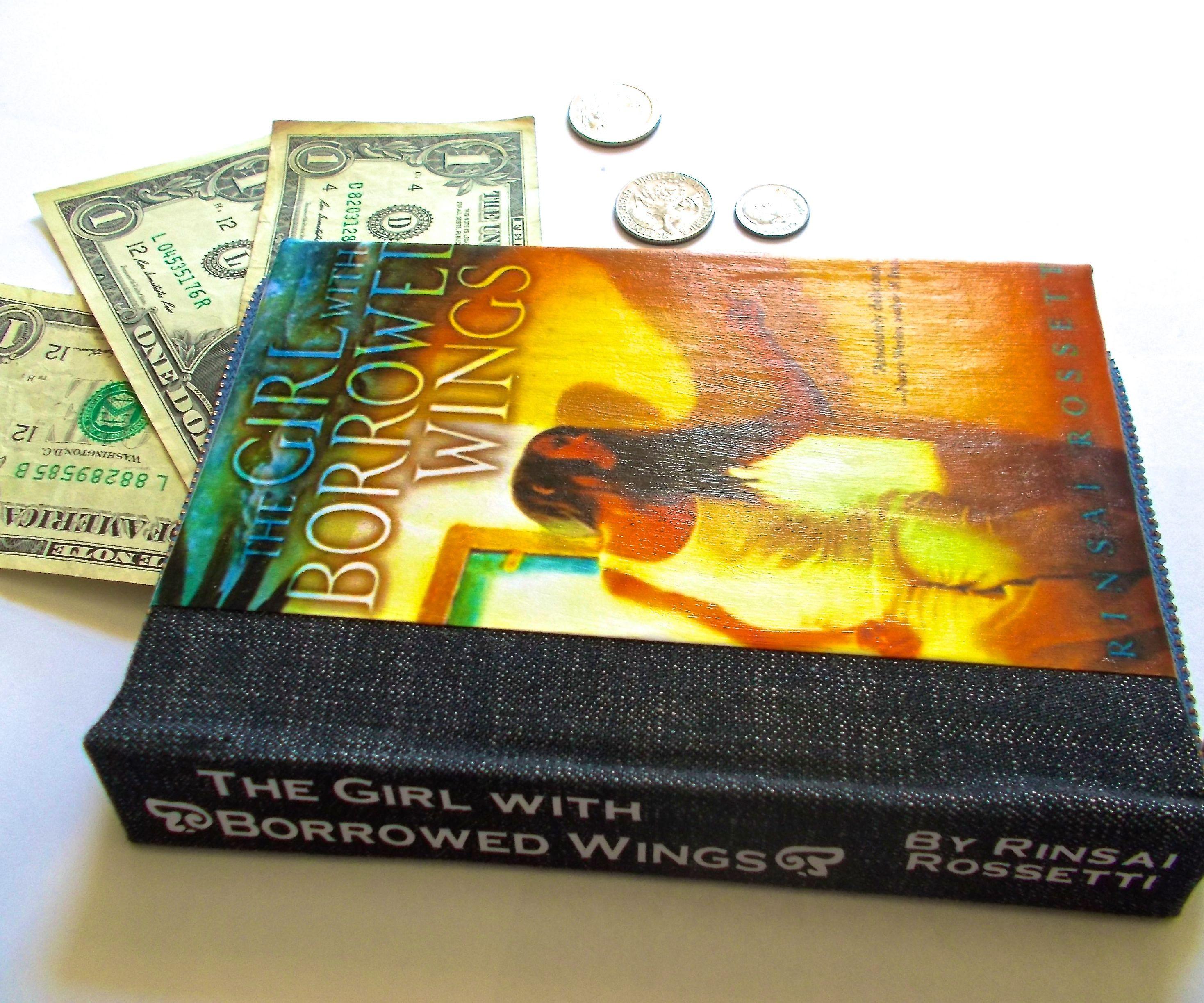Faux Book Wallet