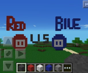 How to Make Red Vs Blue Arcade Guys in Mpce