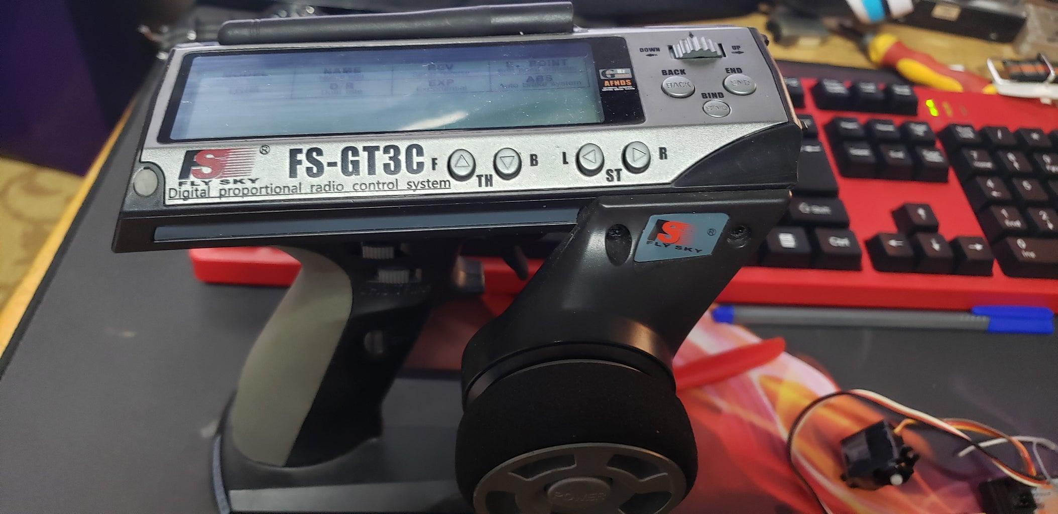 Motor , Propeller , ESC , Battery ,Tx, Rx and Servo .