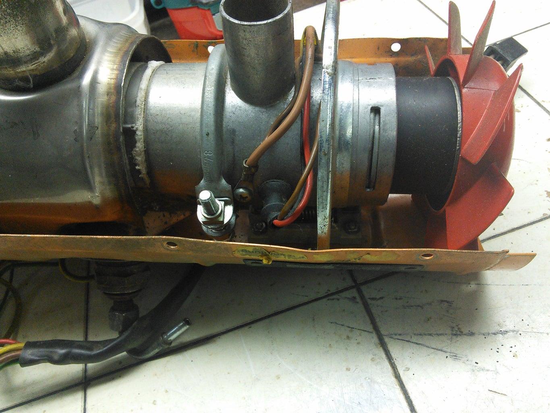 Disassembling Heater
