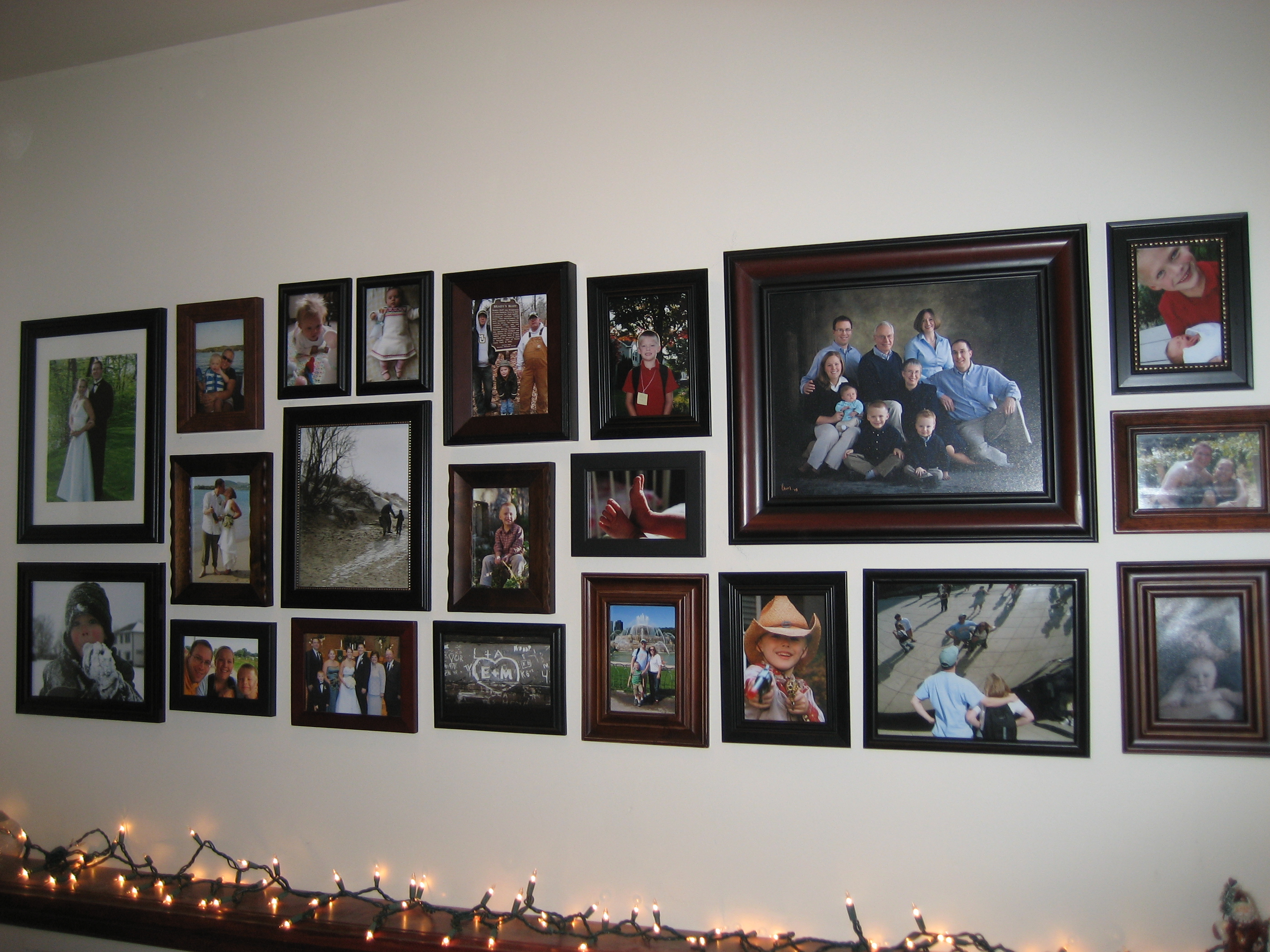 Make a picture wall