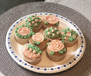 Cupcakes With Swiss Meringue Buttercream