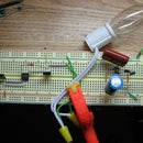 120V A/C Lamp Flicker from LED Votive Candle Type 1 (COB)