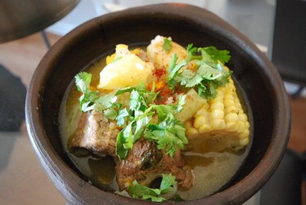 Cazuela De Vacuno (Traditional Chilean Meat Casserol)
