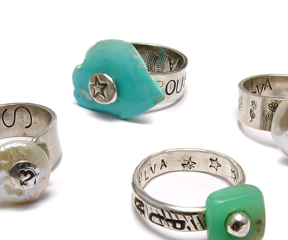 Ring Tutorial - Riveted Rock Band From Beaducation - Step by Step Jewelry Making Video Tutorials