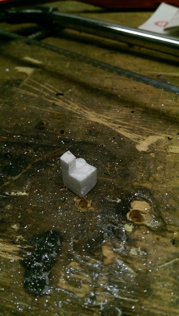 Cut Out Foam Casting.