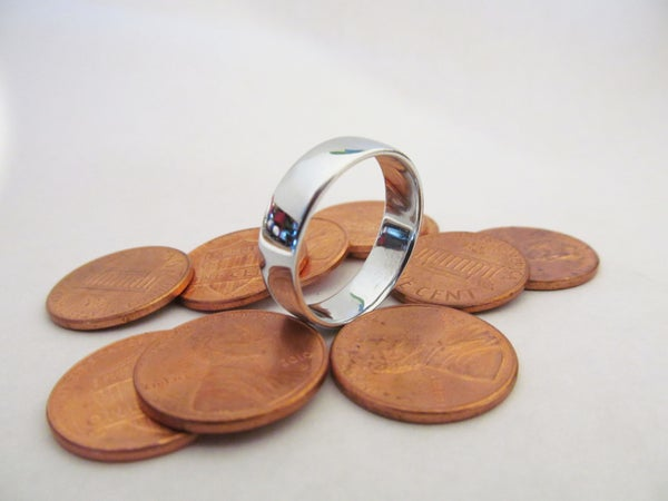Make a Ring by Melting Pennies.