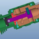 3D printed pump