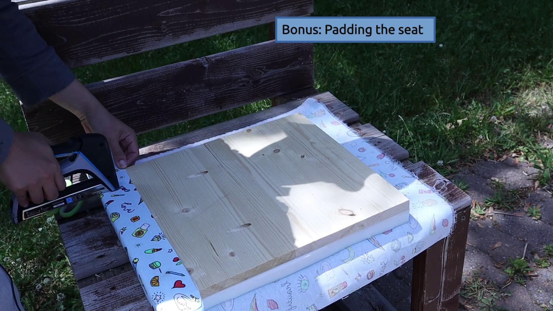 Padding the Seat (optional)