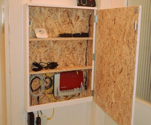 How to Hide Your Router - Router Cabinet
