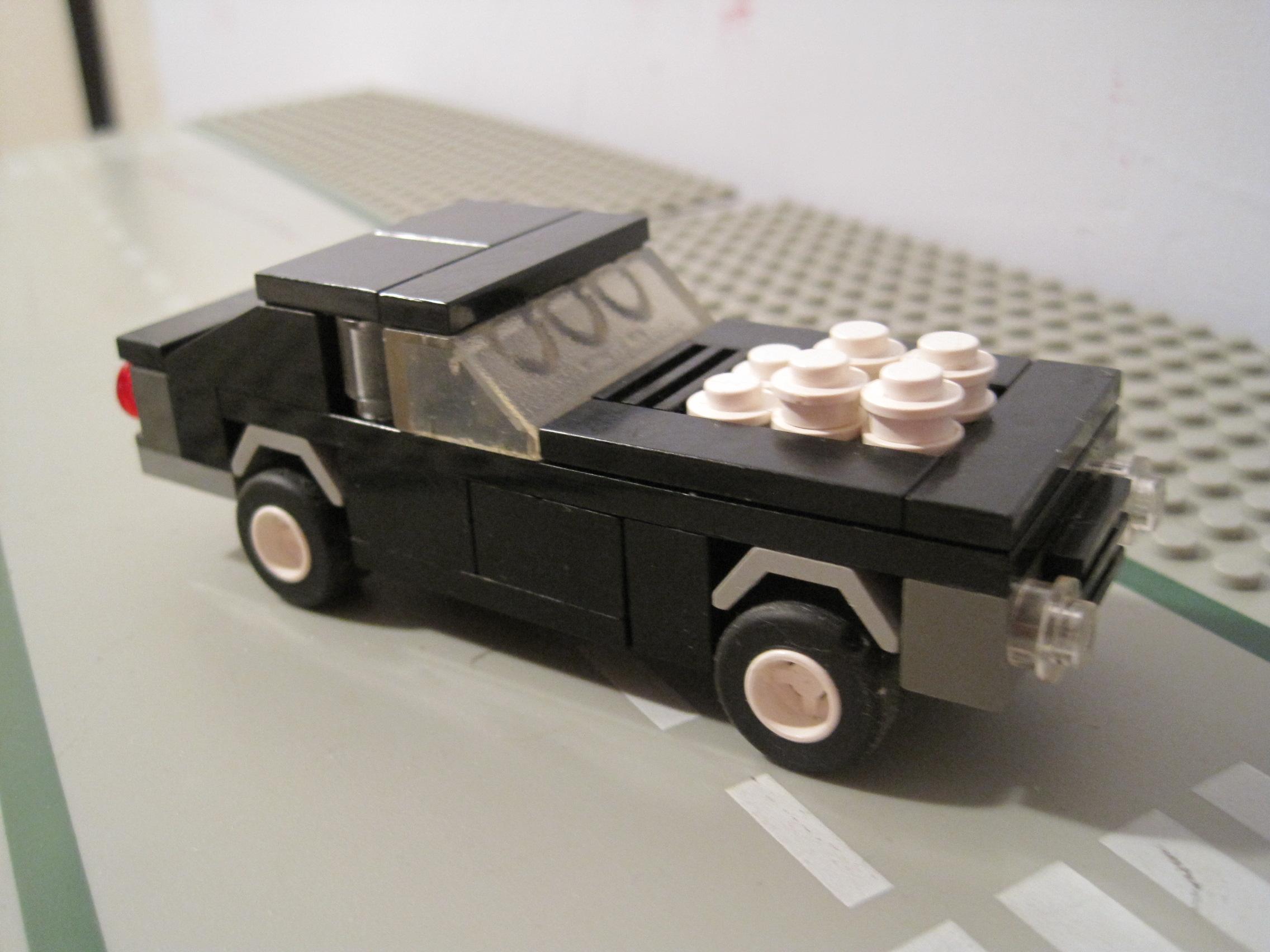 A Small Lego Musclecar