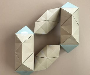 The DIN A3 Elongated Octahedron