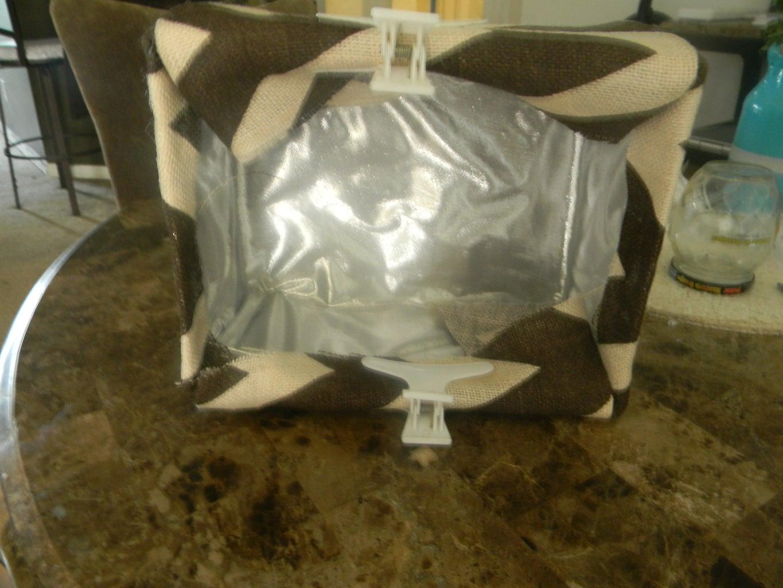 Custom Fabric Storage Bin