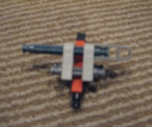 SUPER DUPER Mini K'nex Gun 9pcs