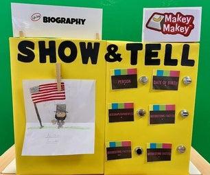 Makey Makey Show并告诉显示