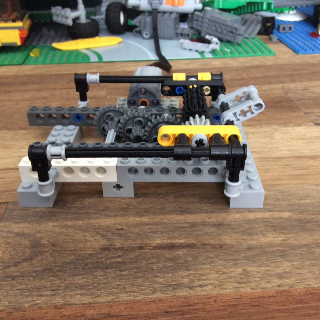How to Make an Easy Customisable Lego Transmission Part 1