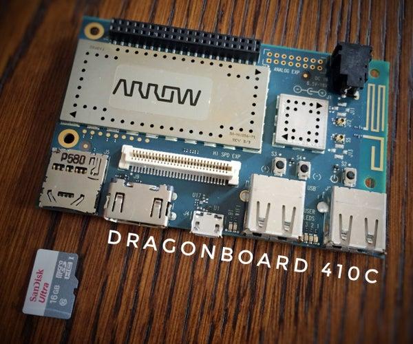Optimizing DragonBoard 410c Computing Performance Using a Micro SD Card