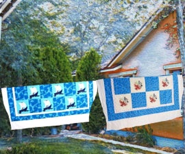 How to Make a Quilt From a Few Vintage Quilt Blocks