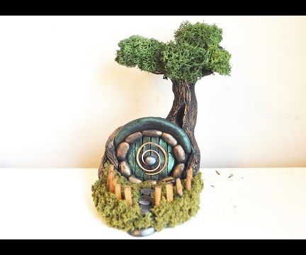 DIY Hobbit Fairy House Sculpt In Polymer Clay