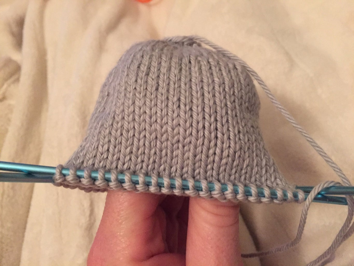 Let's Knit the Head-
