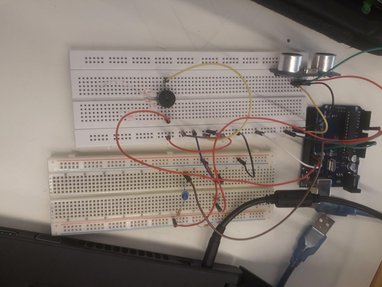 A Diffrent Alarm- Arduino With Distance Sensor