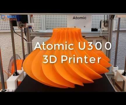 Building a 300mm Big Size Ultimaker Style 3D Printer