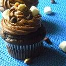 Rocky Road Cupcake