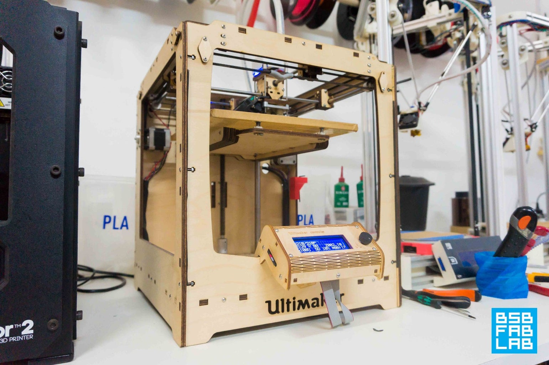 Imprimindo 3D Com a Ultimaker