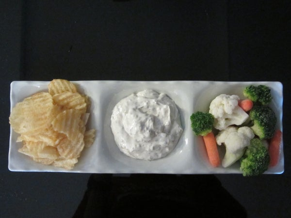 """Easy Chip Dip: """"Dilly Dip"""""""