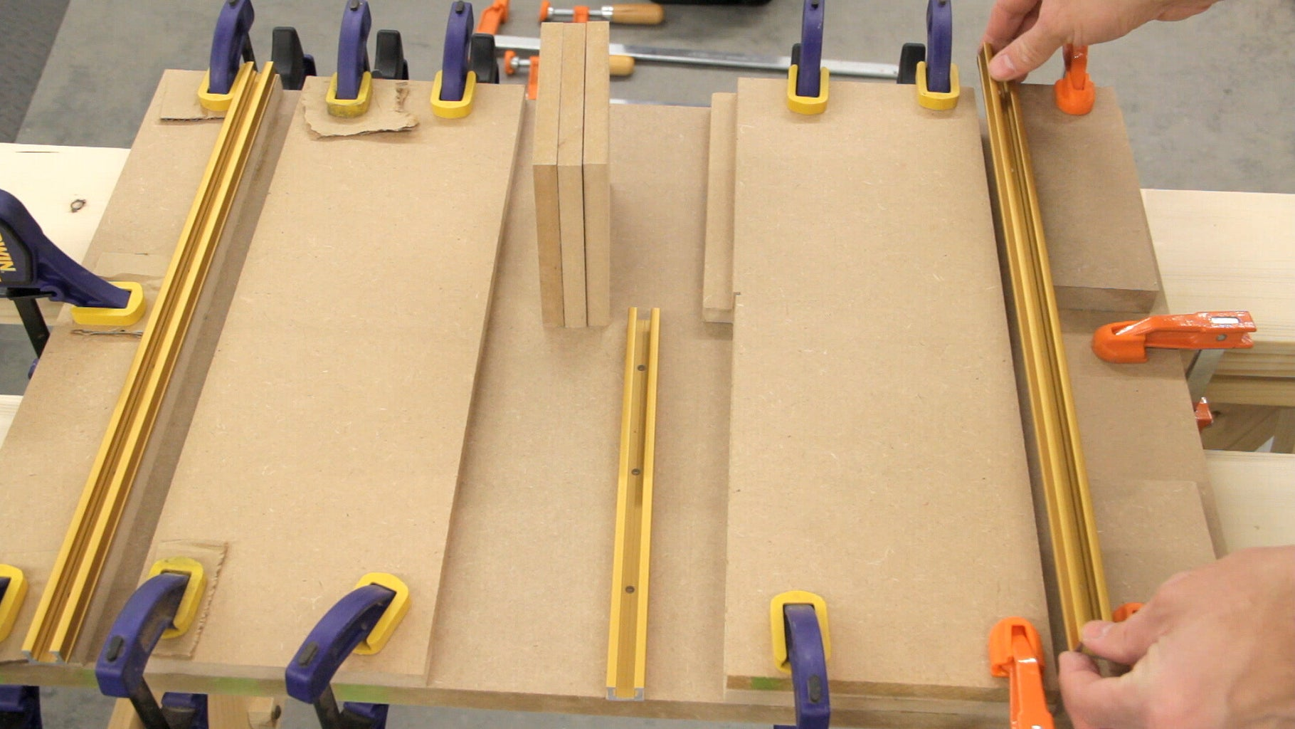 Gluing the Top Parts