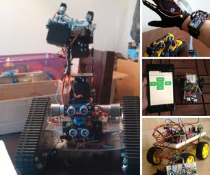 Wireless Robotic Control
