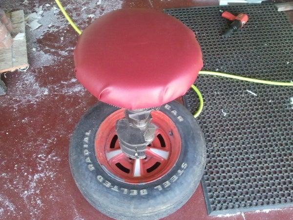 Spare Parts Garage/shop Stool