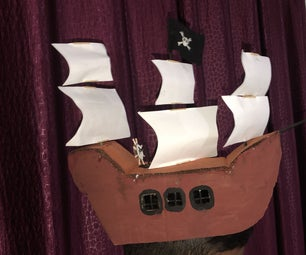 The Pirate Ship Hat.