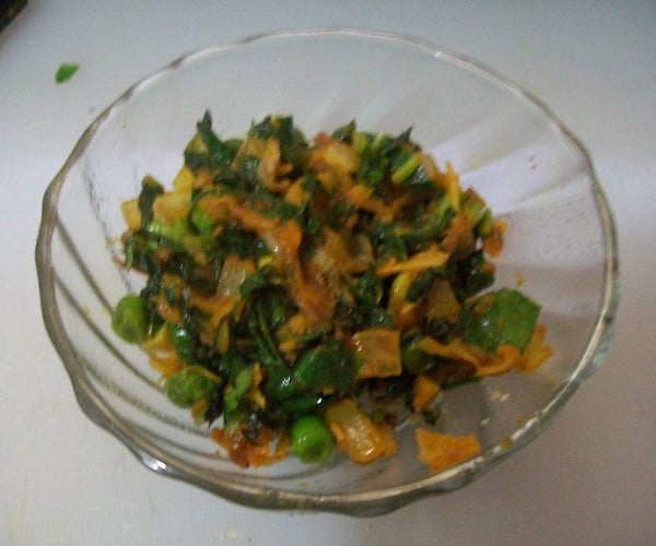 Radish Leaves Subzi