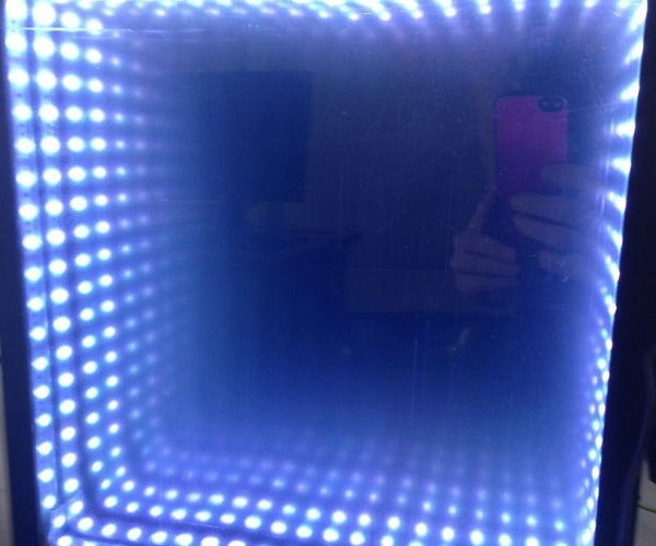 Infinity Mirror That Flashes to Music