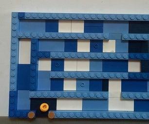 简单的乐高迷宫:制作和玩耍