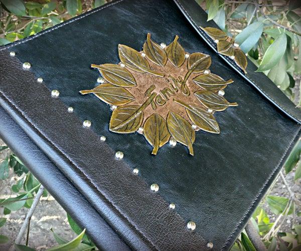 DIY Leather Memory Book