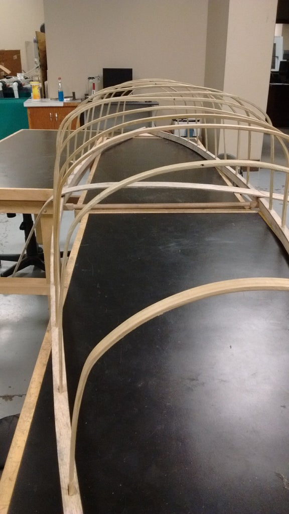 Assemble Vertical Ribs and Keel