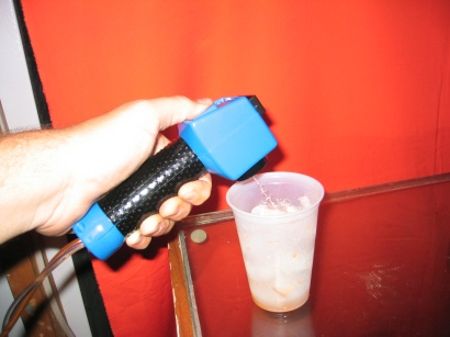Turning a Toy into a Kegerator Bar Gun