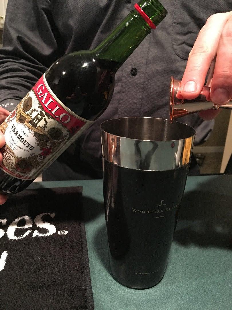 Add Vermouth