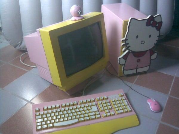 Pc Hello Kitty!