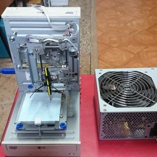 Arduino Mini CNC Plotter Machine From Dvd Drives